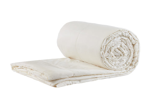 Sleep & Beyond myComforter- Light  Wool Comforter - Natural Linens
