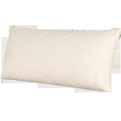 Natura Organic Dream Mate Granulated Latex & Wool Pillow - Natural Linens