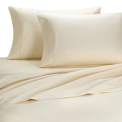 Dreamtex Organics 400TC Cotton Sheet Sets - Natural Linens