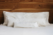 Holy Lamb Organic Body Pillow - Natural Linens