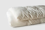 Holy Lamb Organics Quilted Ultimate Wool Mattress Topper - Natural Linens