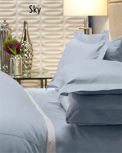 Bellino Raso Duvet Covers - Natural Linens