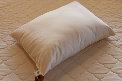 Sachi Organics Wool Pillow - Natural Linens