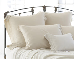 SDH Classic Legna Pillowcases - Natural Linens