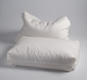 Sachi Rejuvenation Organic Millet and Eco-Wool Pillow - Natural Linens