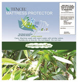 Dreamtex Greenzone - Organic Smooth TENCEL® Waterproof Mattress Protector - Natural Linens