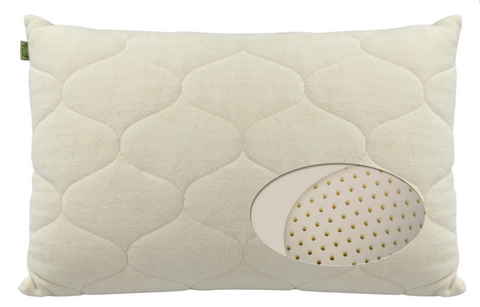 Natura Ideal Latex Pillow - Natural Linens