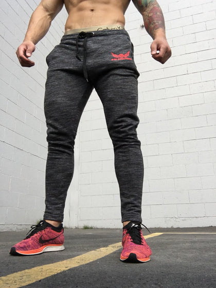 Gym Assassins Skinny Joggers-Black