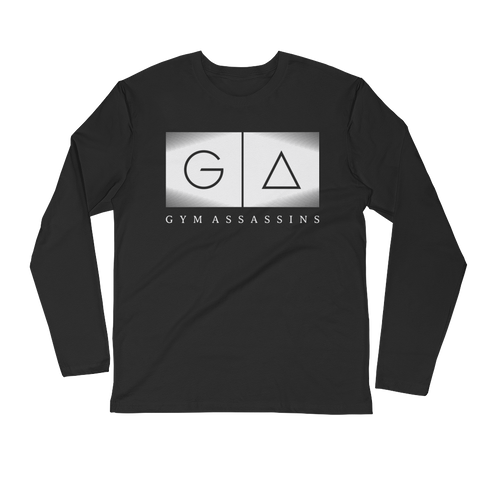 Gym Assassins Fitted Long Sleeve T-Shirt