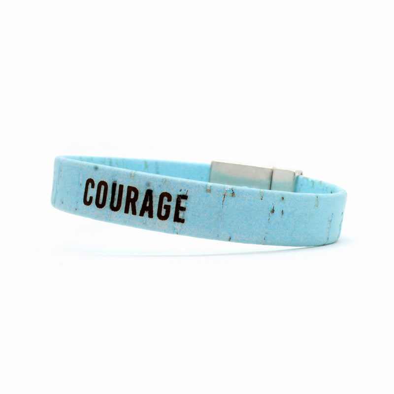 COURAGE Standard Cork Bracelet