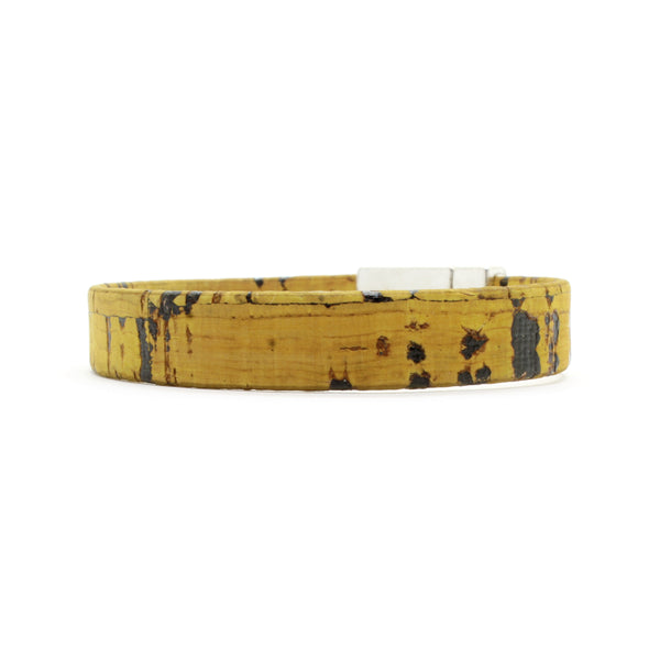 Golden Yellow Standard Cork Bracelet