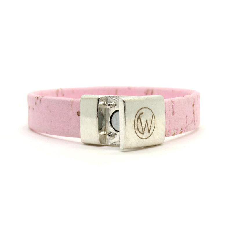 Light Pink Standard Cork Bracelet
