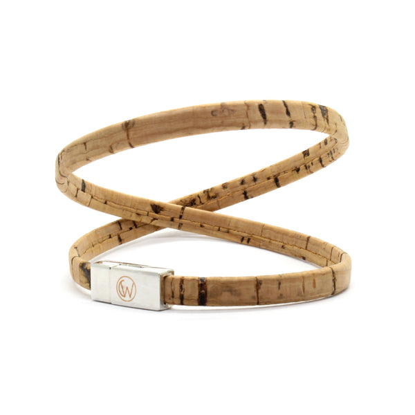Original Double Wrap Cork Bracelet