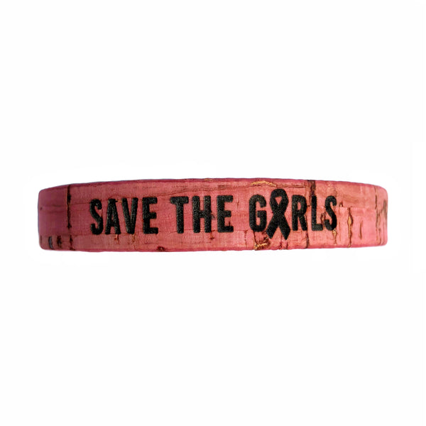 SAVE THE GIRLS Standard Cork Bracelet