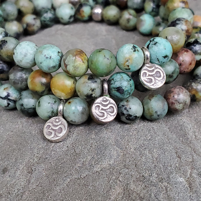 PERSONAL EVOLUTION Intention Bracelet - African Turquoise