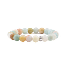 COURAGE + COMMUNICATION Intention Bracelet - Amazonite