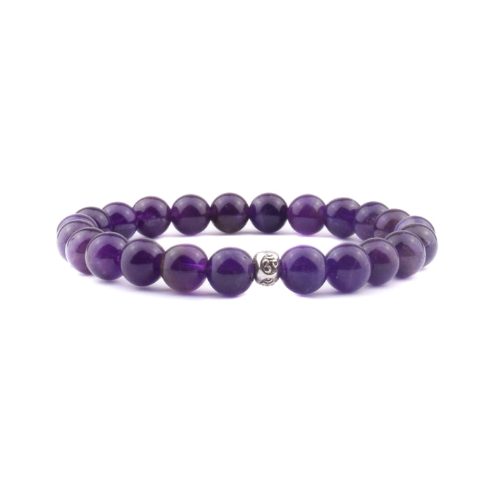INTUITION + PROTECTION Intention Bracelet - Amethyst