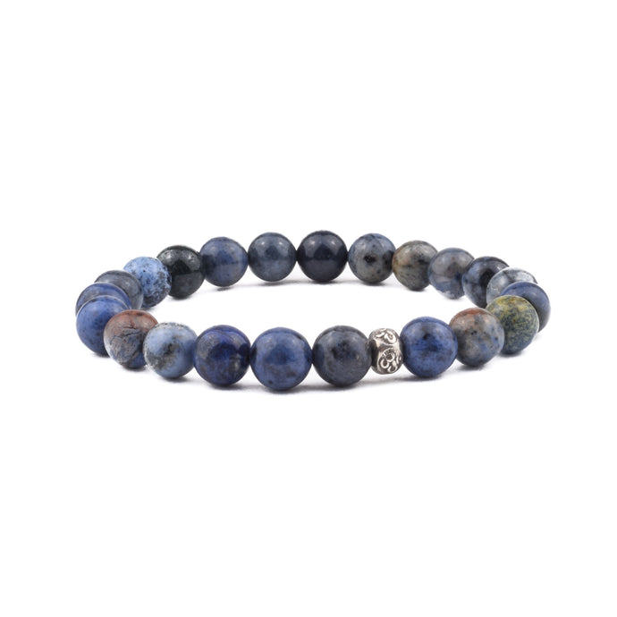 PATIENCE + TRUST - Intention Bracelet - Dumortierite