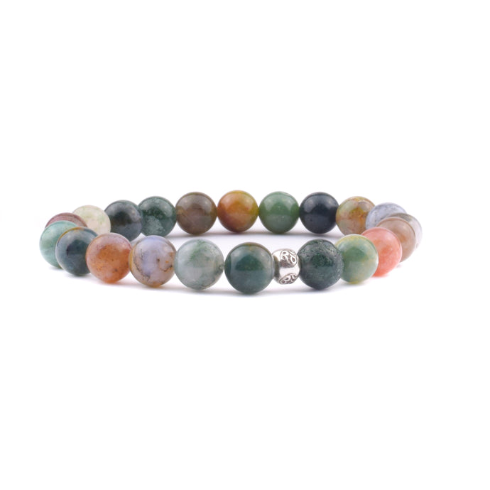 HEALING + TRANQUILITY Intention Bracelet - India Agate