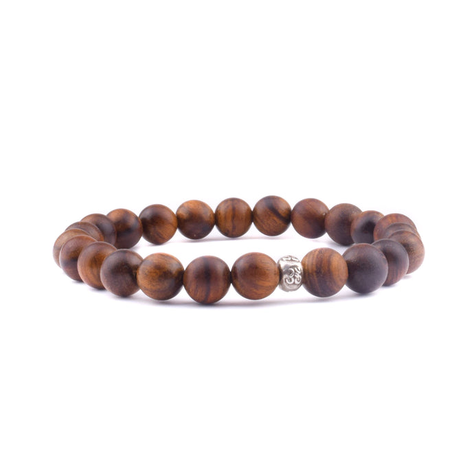 LOVE + KINDNESS Intention Bracelet - Indian Rosewood