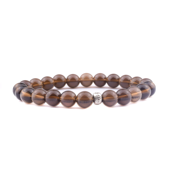 STABILITY Intention Bracelet - Smoky Quartz