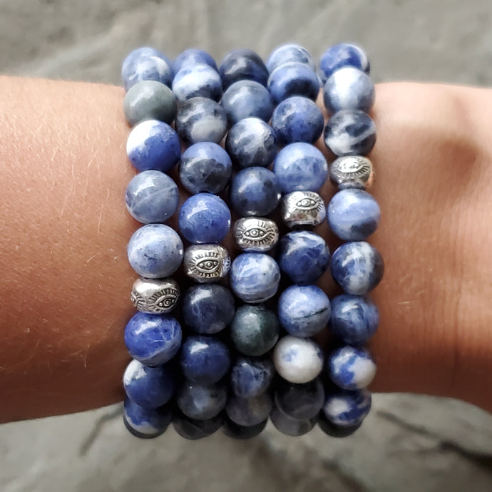 INNER HARMONY Intention Bracelet - Sodalite