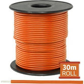 Cable monopolar 22 awg 100 pies 300V 80C color naranja