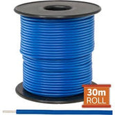 Cable monopolar 20 awg 100 pies 300V 80C color azul