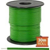 Cable monopolar 18 awg 100 pies 300V 80C color verde