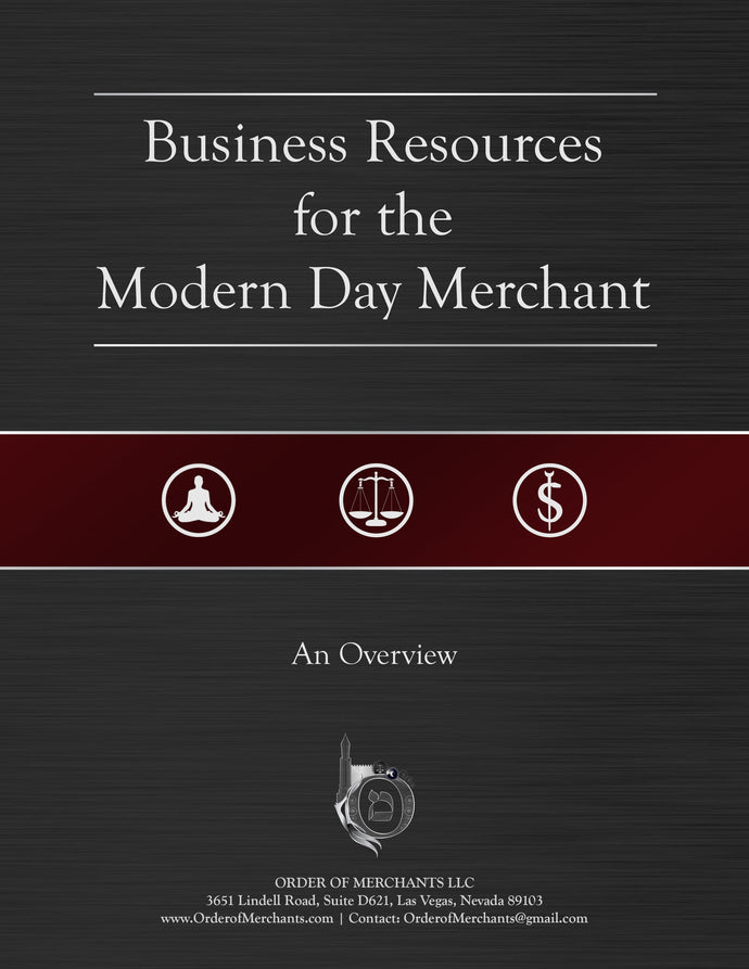 Business Resources For The Modern Day Merchant (An Overview)