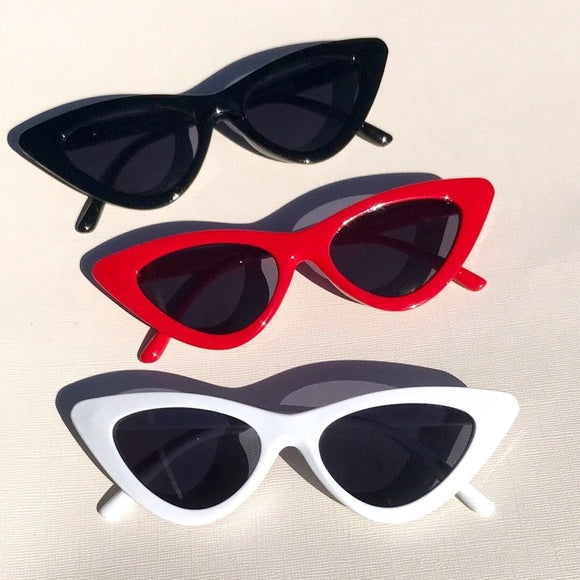Retro Cat Eye Sunglasses - ALLURE 🌹 ROSE