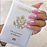 USA Passport Cover Case - ALLURE 🌹 ROSE