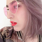 Heart Frame Sunglasses - ALLURE 🌹 ROSE