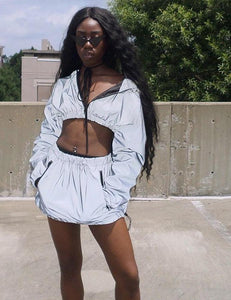 Flash Reflective Two Piece Set