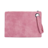 Vegan Leather Clutch Purse - ALLURE 🌹 ROSE