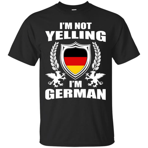 German Not Yelling