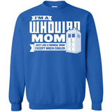 Dr. Who Whoovian Mom