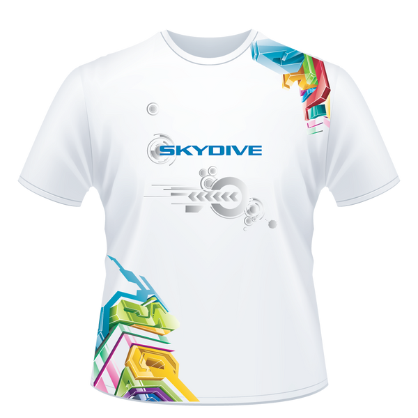 Skydiving T-shirts - Skydive Competition - Limited Edition - Men`s Tee, Shirts, Skydiving Apparel, Skydiving Apparel, Skydiving Apparel, Skydiving Gear, Olympics, T-Shirts, Skydive Chicago, Skydive City, Skydive Perris, Drop Zone Apparel, USPA, united states parachute association, Freefly, BASE, World Record,