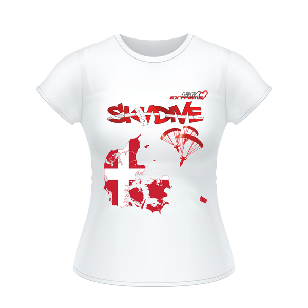 - Skydive All World - DENMARK - Ladies' Tee -
