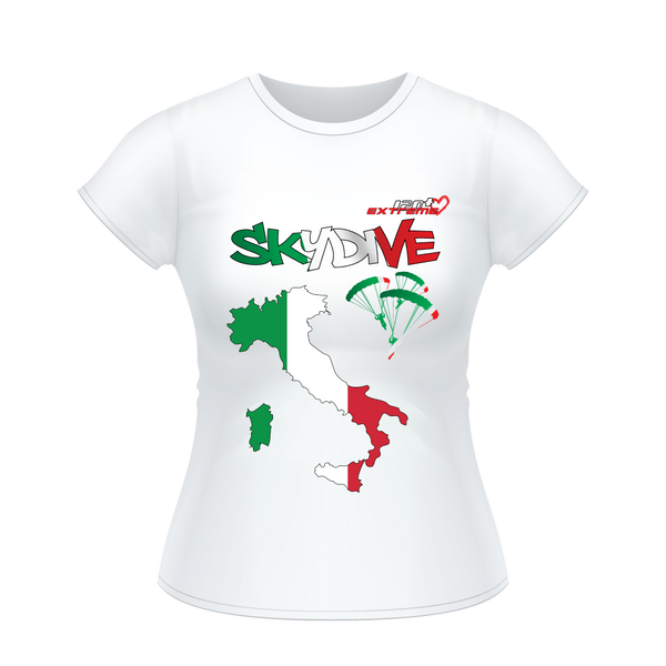 - Skydive All World - ITALY - Ladies' Tee -