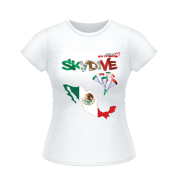 - Skydive All World - MEXICO - Ladies' Tee -