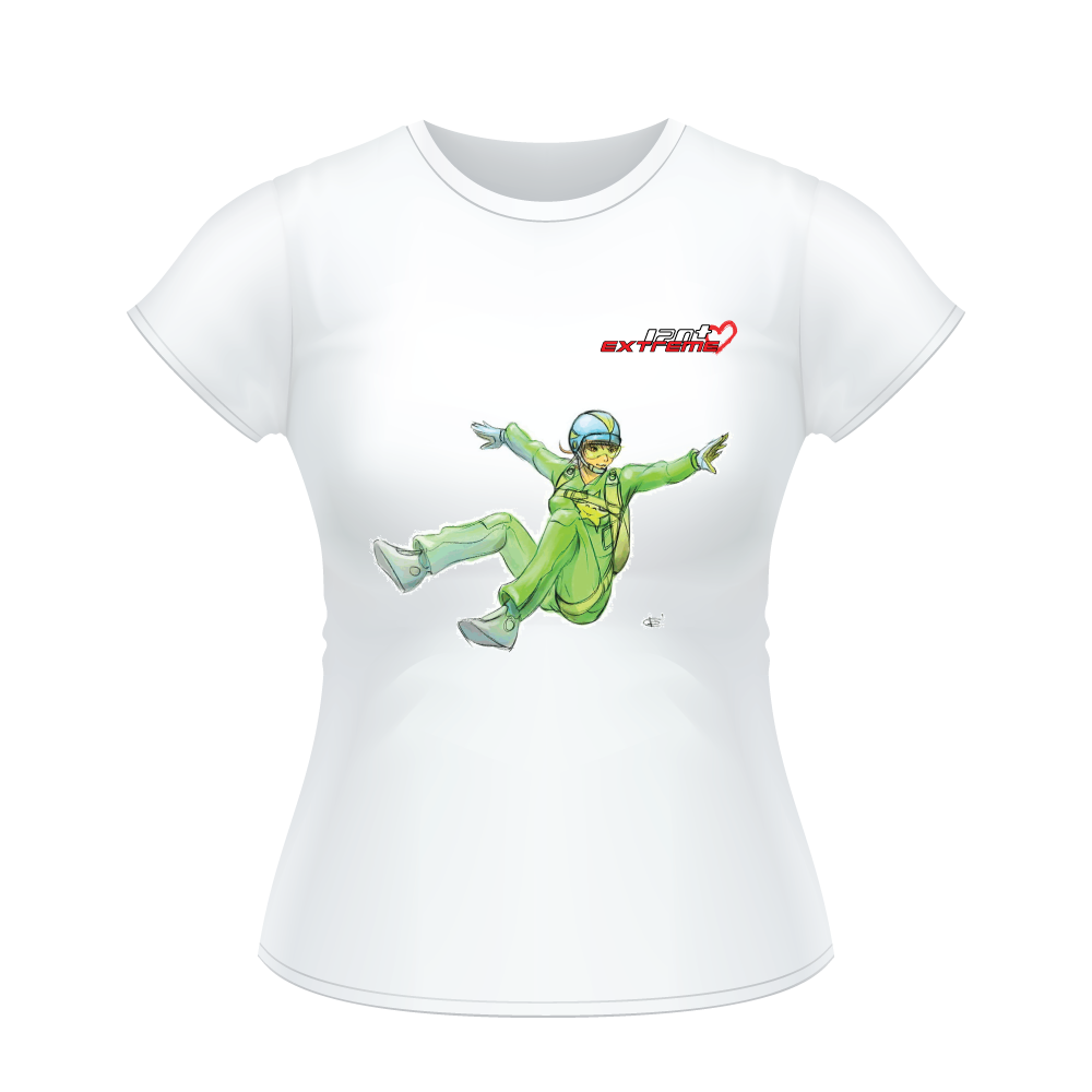 I Love Skydive - Sit-Fly - Short Sleeve Women's T-shirt