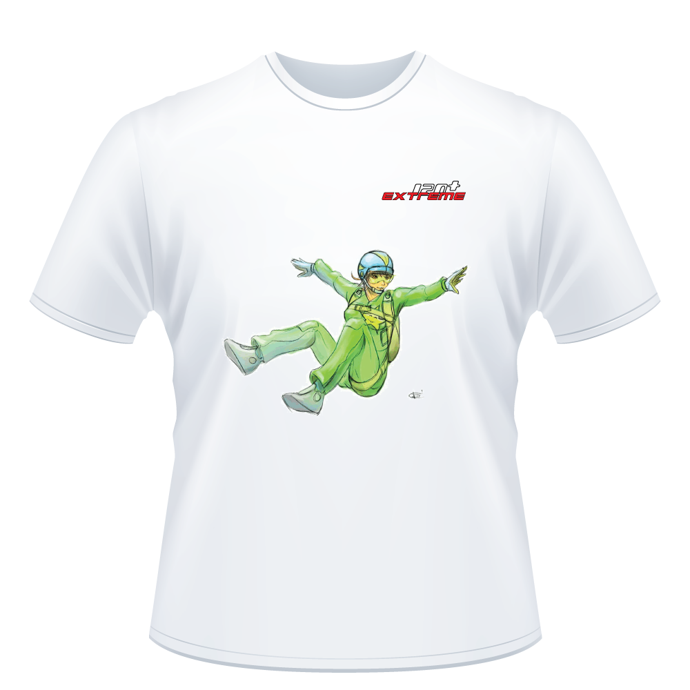I Love Skydive - Sit-Fly - Short Sleeve Men's T-shirt