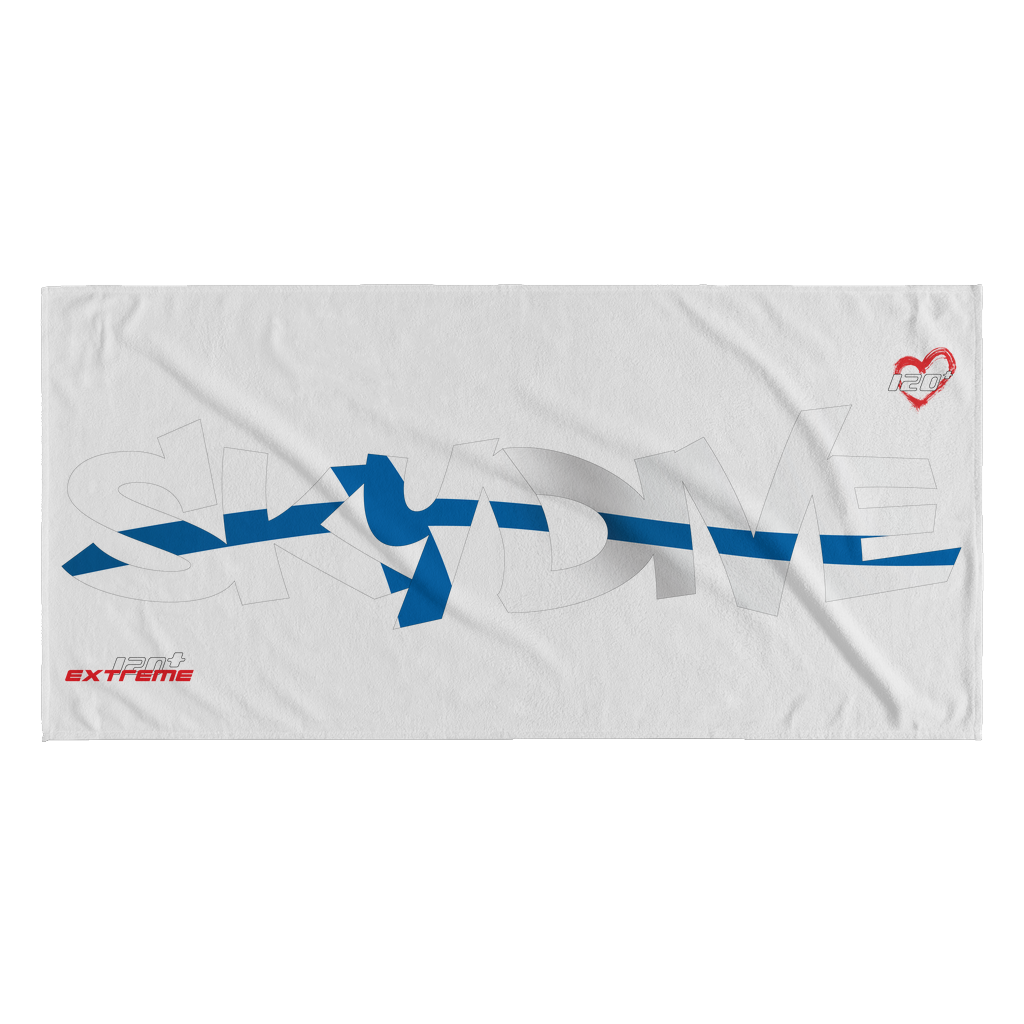 Skydiving T-shirts World Team - Skydive Finland - Beach Towels in 10 Colors, Beach Towel, teelaunch, Skydiving Apparel, Skydiving Apparel, Skydiving Gear, Olympics, T-Shirts, Skydive Chicago, Skydive City, Skydive Perris, Drop Zone Apparel, USPA, united states parachute association, Freefly, BASE, World Record,