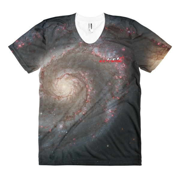 Skydiving T-shirts SPACE - Out of this whirl - Women's sublimation t-shirt, T-shirt, Skydiving Apparel, Skydiving Apparel, Skydiving Apparel, Skydiving Gear, Olympics, T-Shirts, Skydive Chicago, Skydive City, Skydive Perris, Drop Zone Apparel, USPA, united states parachute association, Freefly, BASE, World Record,