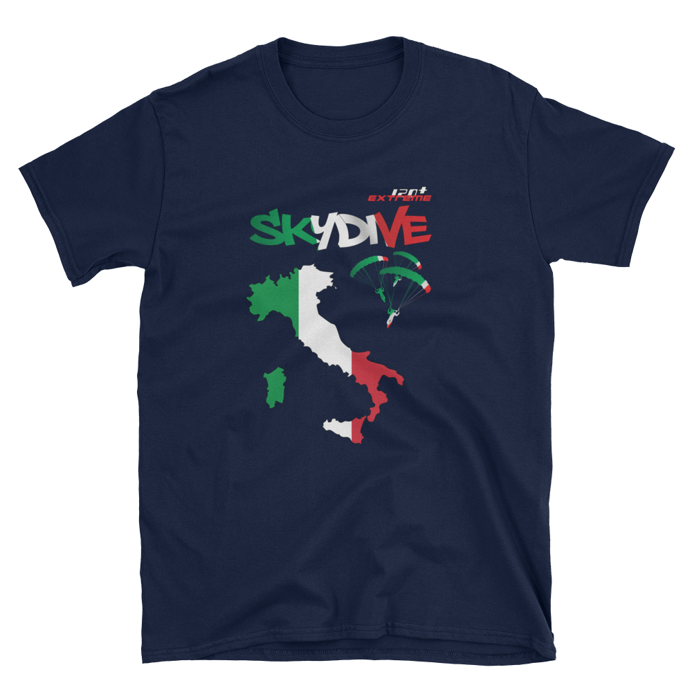Skydiving T-shirts - Skydive World - ITALY - Cotton Tee -, Shirts, Skydiving Apparel, Skydiving Apparel, Skydiving Apparel, Skydiving Gear, Olympics, T-Shirts, Skydive Chicago, Skydive City, Skydive Perris, Drop Zone Apparel, USPA, united states parachute association, Freefly, BASE, World Record,