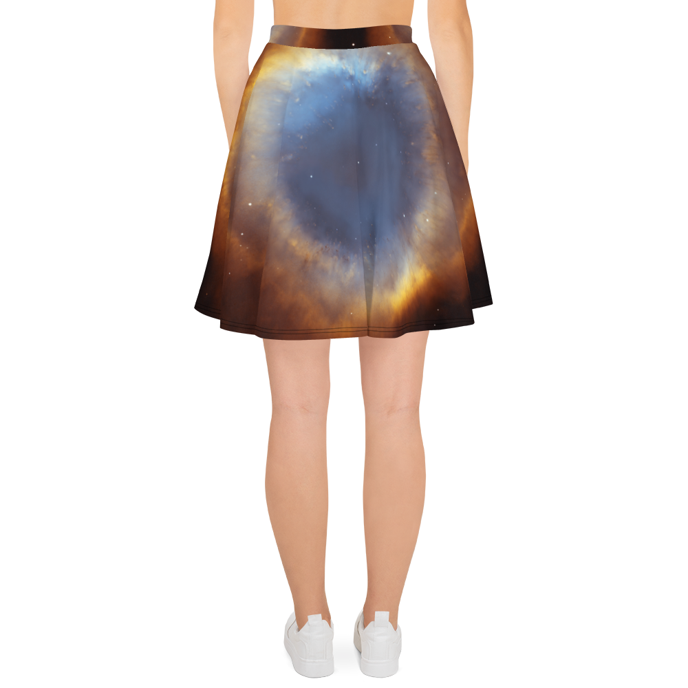 Skydiving T-shirts Galaxy - Glory of Helix Nebula - Skater Skirt, Skirts, Skydiving Apparel, Skydiving Apparel, Skydiving Apparel, Skydiving Gear, Olympics, T-Shirts, Skydive Chicago, Skydive City, Skydive Perris, Drop Zone Apparel, USPA, united states parachute association, Freefly, BASE, World Record,