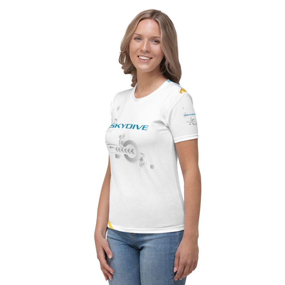 Skydiving T-shirts - Skydive Competition - Limited Edition - Women`s Tee -, Shirts, Skydiving Apparel, Skydiving Apparel, Skydiving Apparel, Skydiving Gear, Olympics, T-Shirts, Skydive Chicago, Skydive City, Skydive Perris, Drop Zone Apparel, USPA, united states parachute association, Freefly, BASE, World Record,