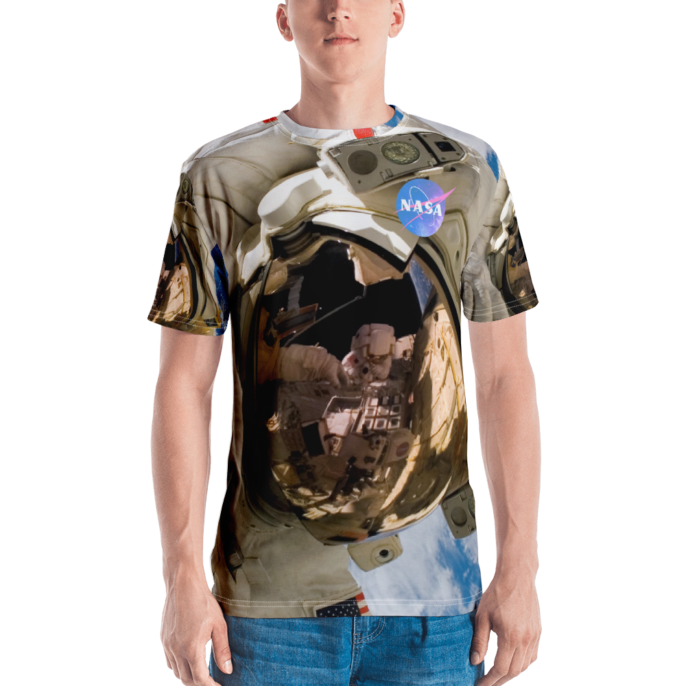 Skydiving T-shirts NASA - Astronaut - USA - Short sleeve men's t-shirt, T-shirt, Skydiving Apparel, Skydiving Apparel, Skydiving Apparel, Skydiving Gear, Olympics, T-Shirts, Skydive Chicago, Skydive City, Skydive Perris, Drop Zone Apparel, USPA, united states parachute association, Freefly, BASE, World Record,