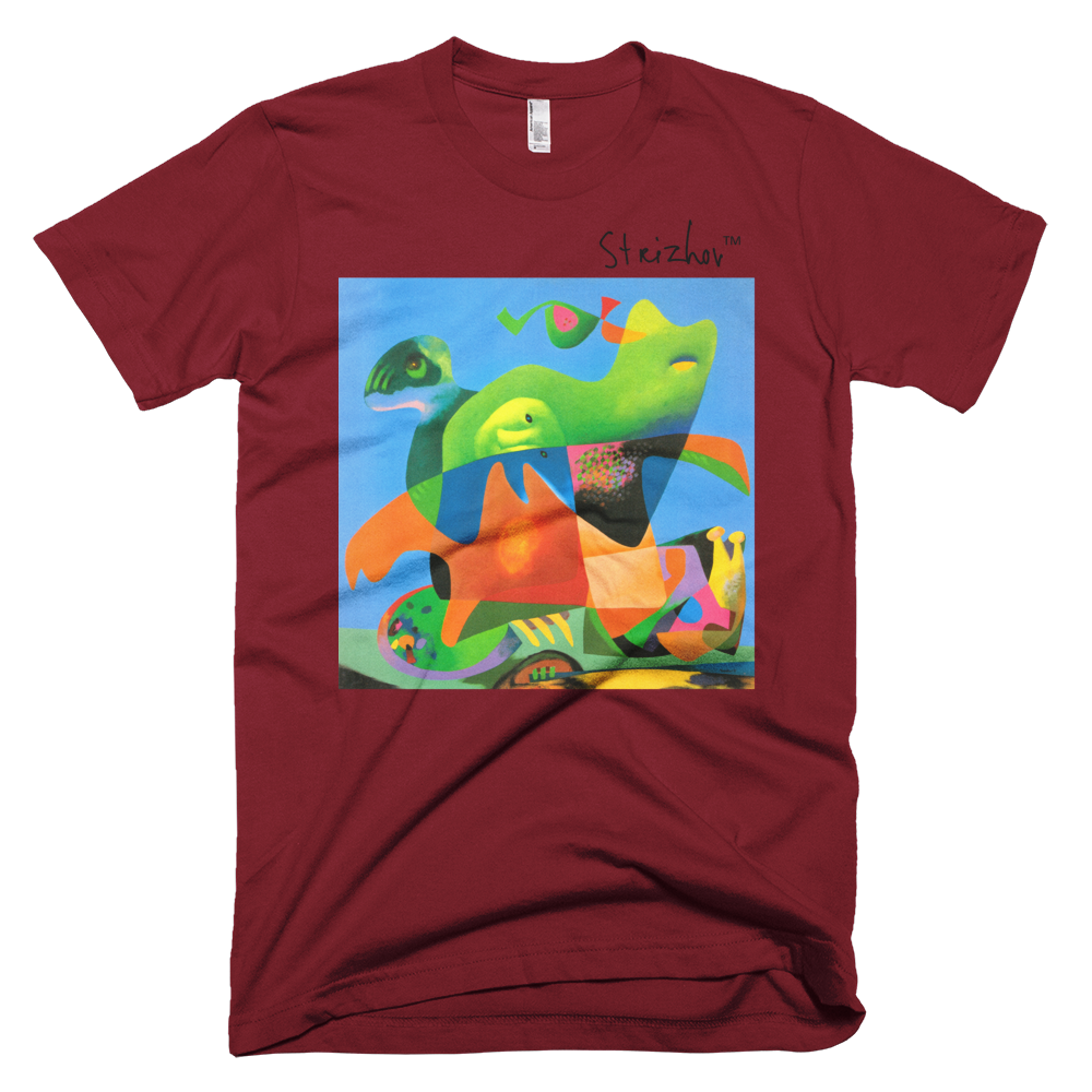 Skydiving T-shirts Strizhov™ by Dmitri Strizhov - 'Green Cat - 1997' - T-Shirt, , Strizhov™, Skydiving Apparel, Skydiving Apparel, Skydiving Gear, Olympics, T-Shirts, Skydive Chicago, Skydive City, Skydive Perris, Drop Zone Apparel, USPA, united states parachute association, Freefly, BASE, World Record,
